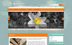 Originative Free WordPress Theme