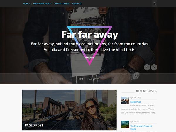 OutfitPlace WordPress Theme