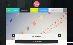 Payouts Free WordPress Theme