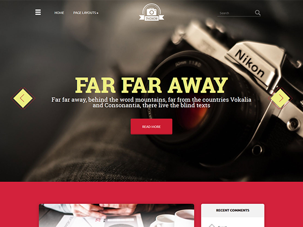 Phonow Free WordPress Theme