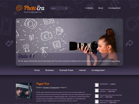 PhotoEra Free WordPress Theme