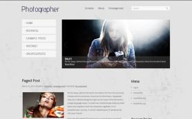 Photographer Free WordPress Theme