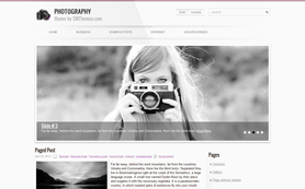 Photography Free WordPress Theme