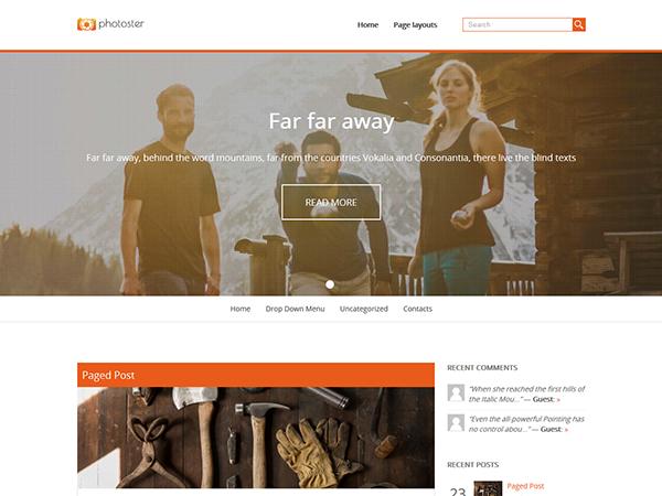Photoster WordPress Theme