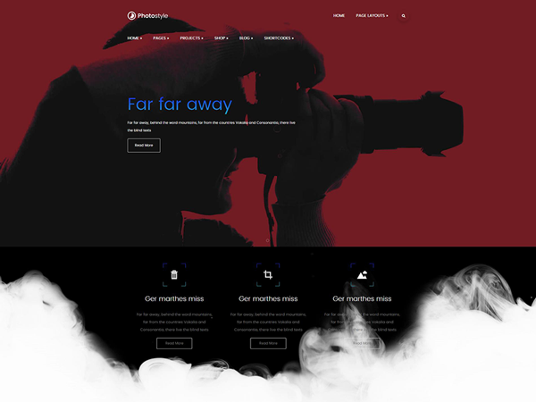 Photostyle WordPress Theme