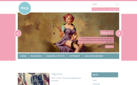 PinUp Free WordPress Theme