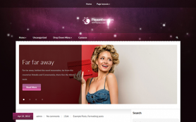 PiquantWomen Free WordPress Theme