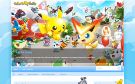 PokemonPress Free WordPress Theme