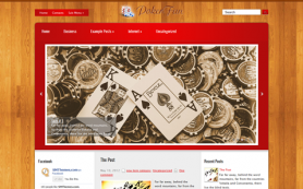 PokerFan Free WordPress Theme