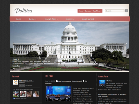 Politica WordPress Theme