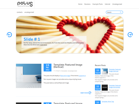 Polus Free WordPress Theme