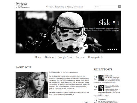 Portrait WordPress Theme