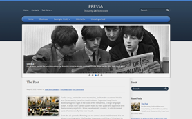 Pressa Free WordPress Theme