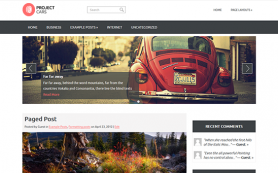 ProjectCars Free WordPress Theme