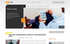 ProTime Free WordPress Theme