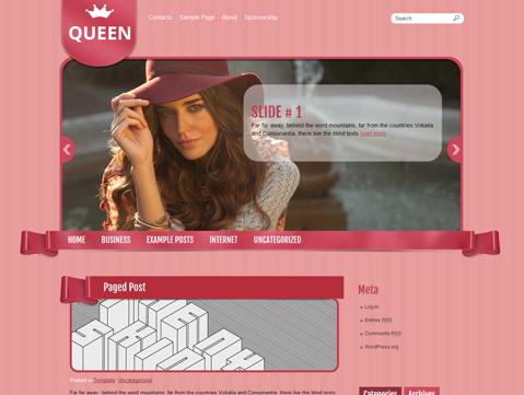 Queen WordPress Theme