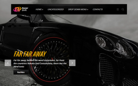 RacerDrift Free WordPress Theme