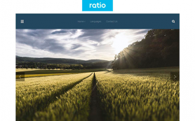 Ratio Free WordPress Theme