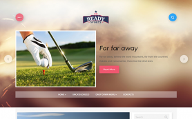 ReadySport Free WordPress Theme