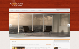 RealEstater Free WordPress Theme