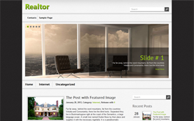 Realtor Free WordPress Theme