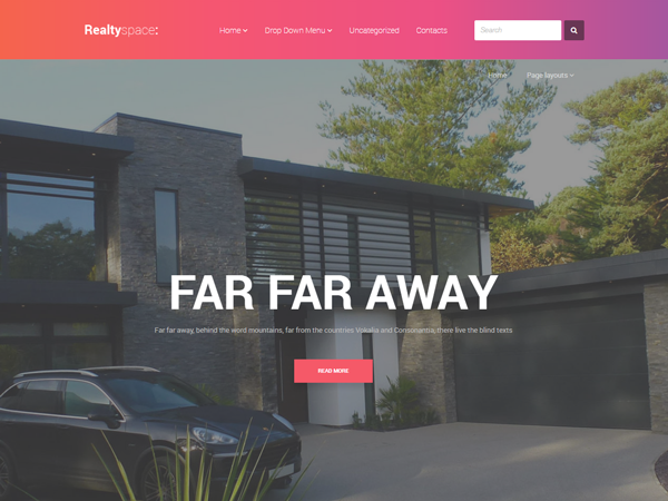 free wp real estate themes