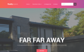 RealtySpace Free WordPress Theme