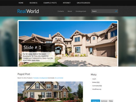 RealWorld WordPress Theme