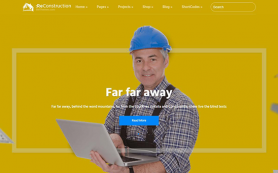 ReConstruction Free WordPress Theme