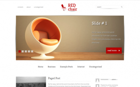 RedChair Free WordPress Theme