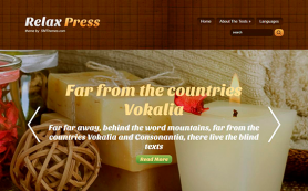 RelaxPress Free WordPress Theme