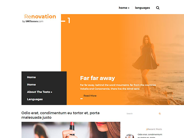 Renovation Free WordPress Theme