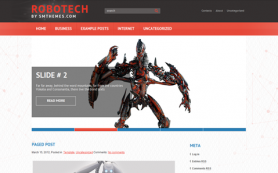 Robotech Free WordPress Theme