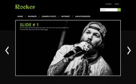 Rocker Free WordPress Theme
