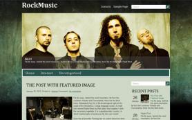 RockMusic Free WordPress Theme