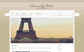 RoundTheWorld Free WordPress Theme