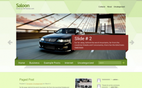 Saloon Free WordPress Theme