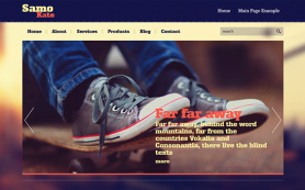 Samokate Free WordPress Theme