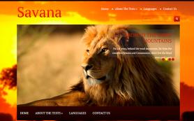 Savana Free WordPress Theme