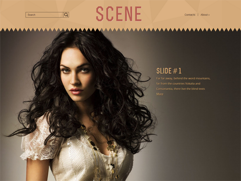 Scene Free WordPress Theme