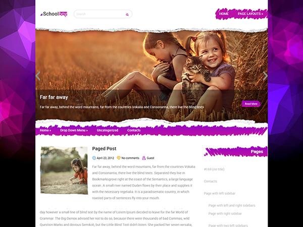 SchoolBoy WordPress Theme