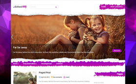 SchoolBoy Free WordPress Theme
