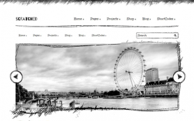Scratched Free WordPress Theme