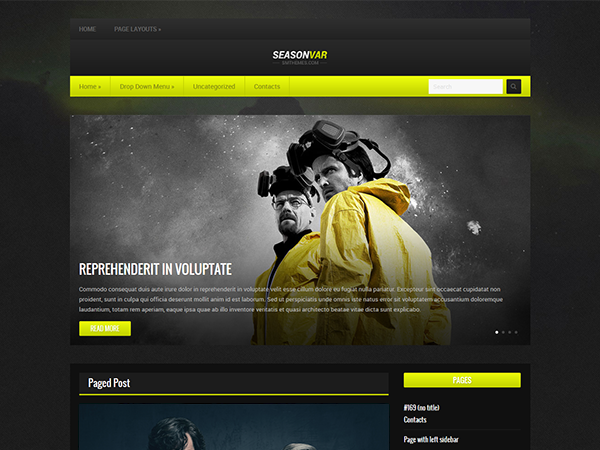 SeasonVar Free WordPress Theme
