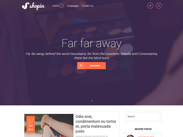 ShopIn Free WordPress Theme