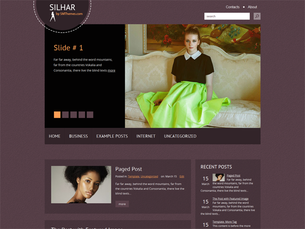Silhar Free WordPress Theme
