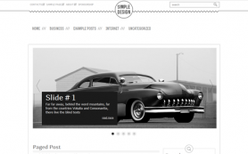 SimpleDesign Free WordPress Theme