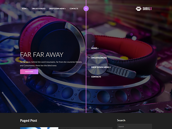 Music Free WordPress Themes
