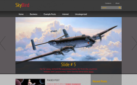 SkyBird Free WordPress Theme