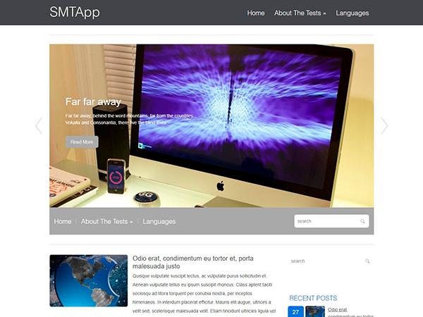 SMTApp WordPress Theme